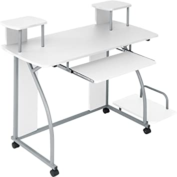 office work table. TecTake Computer Desk Work Table Youth Student Office Station Furniture - Different Colours ( S