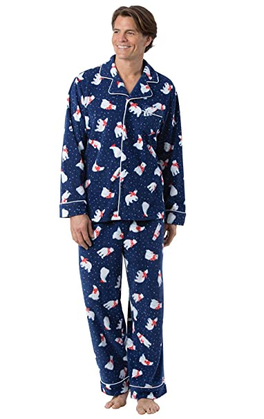 Mens Christmas Pajamas.Pajamagram Pajamas Set For Men Fleece Men Christmas Pajamas