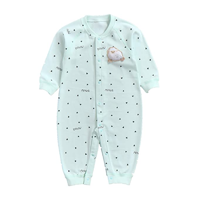 05c50c656aa9 Amazon.com  MuYwa Footless Pajamas Baby Sleeper Cotton Kids ...