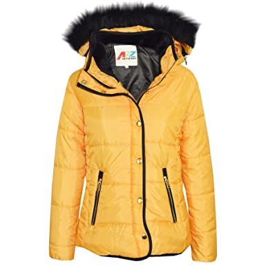 f0926e2df A2Z 4 Kids® Girls Jacket Kids Designers Silver Padded Puffer Bubble ...