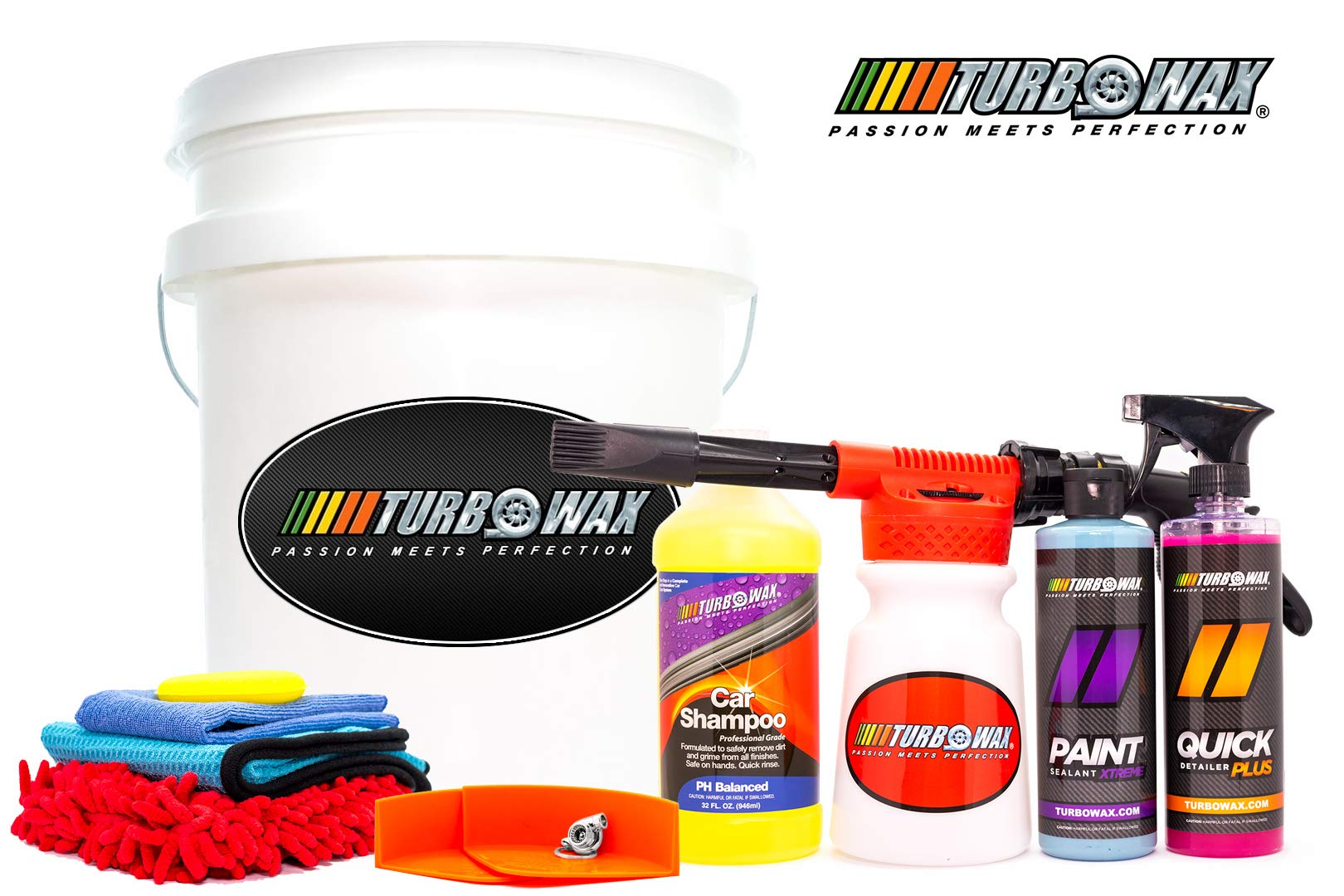 Turbo Wax Leather, Vinyl and Rubber Protectant with Polycharger 16oz Bottle, Prevents Cracking and Fading (2)