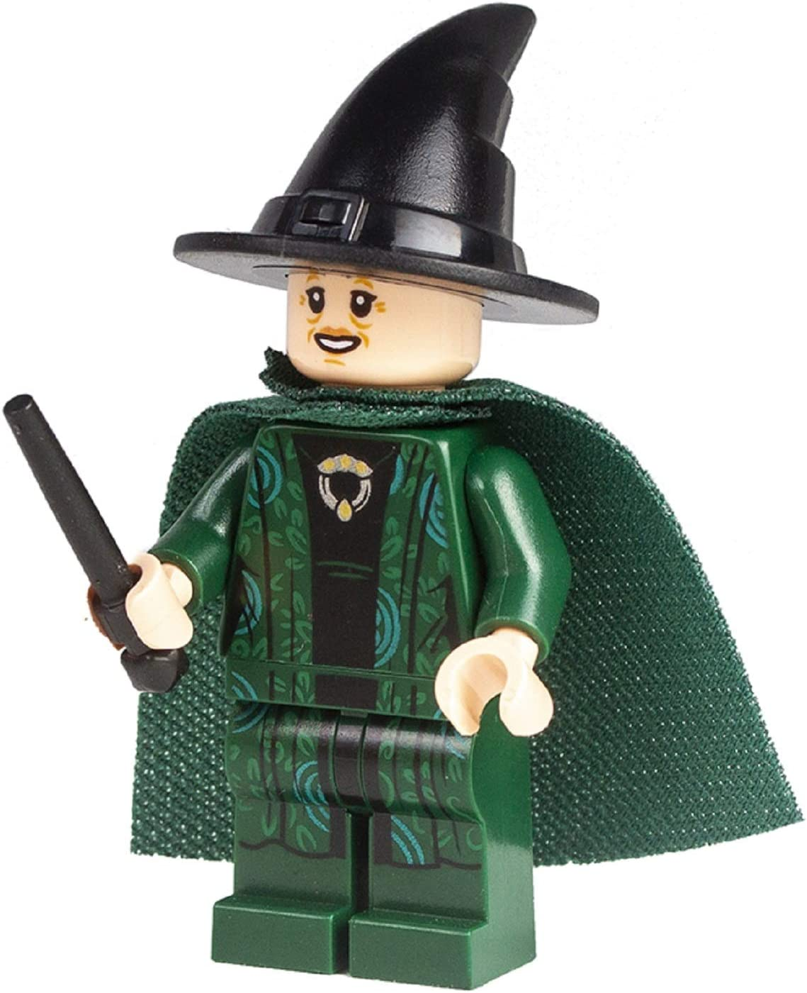 LEGO Harry Potter: Professor Mcgonagall with Green Cape and Wand