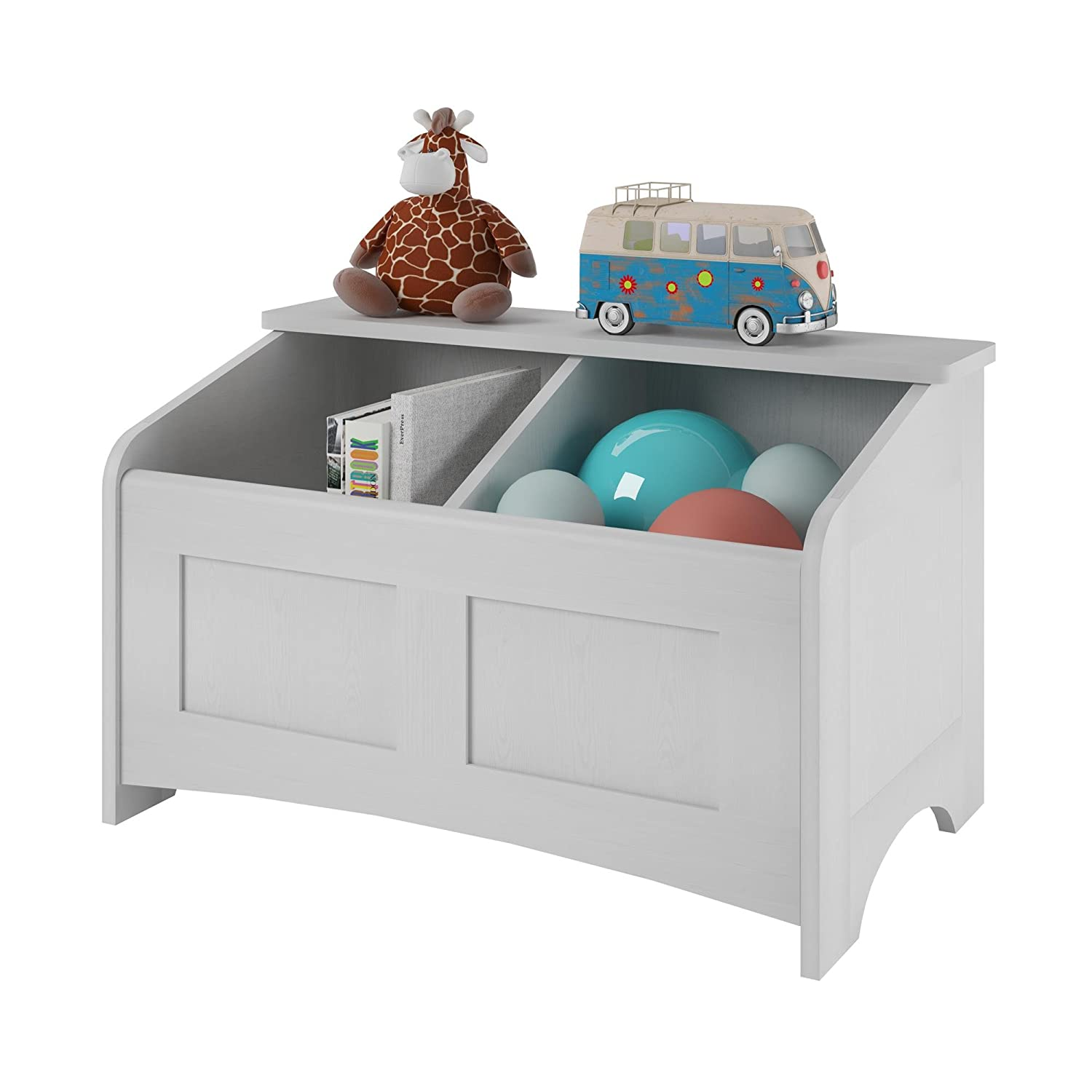 Attirant Amazon.com: Ameriwood Home Cassidy Toy Chest, Federal White: Kitchen U0026  Dining