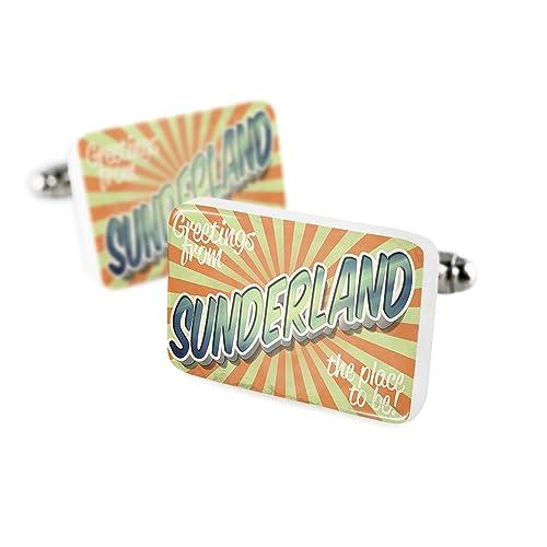 Gemelos de felicitación de Sunderland, Vintage Postcard ...