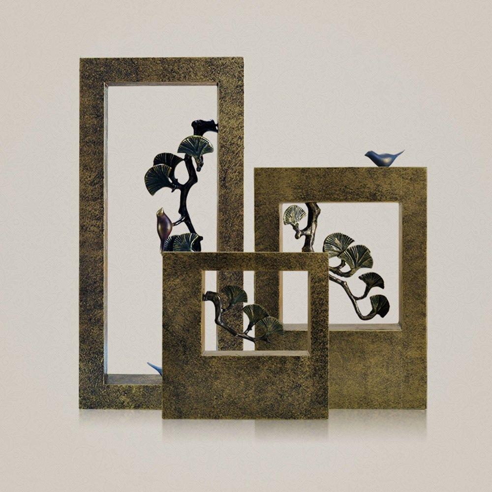 Europeo accoglienza Accogliente Pino Uccello Scatola Cava Tecnologia Decorazione Ufficio Decorazioni casa