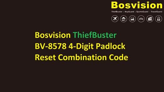 Amazon.com: Bosvision 1.7 inches ancho Candado de ...