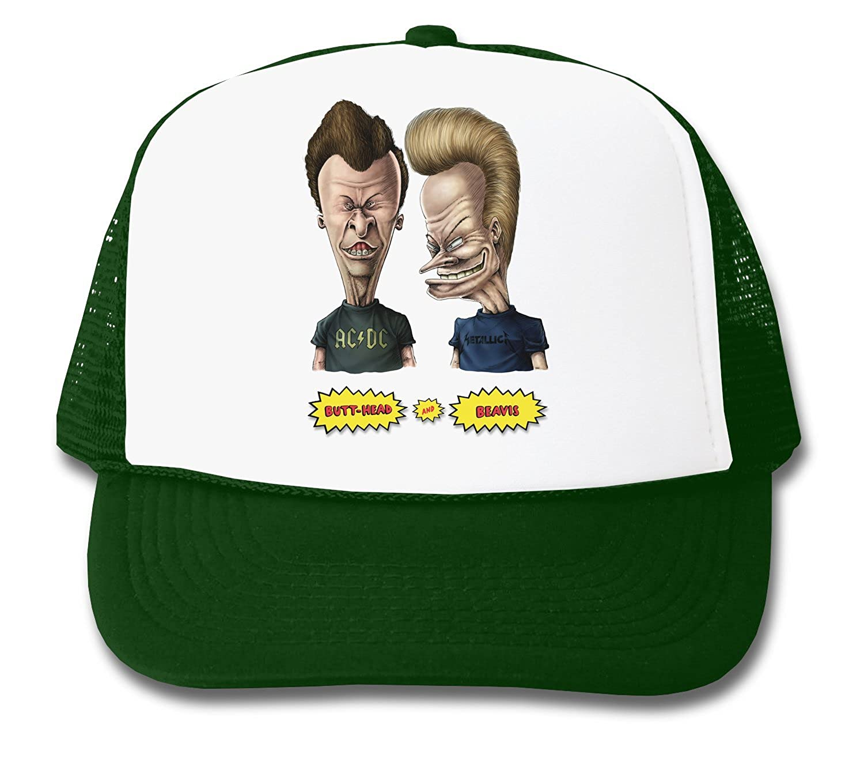 214bfb18603 Beavis And ButtHead Funny Logo Graphic Design Trucker Cap  Amazon.co.uk   Clothing