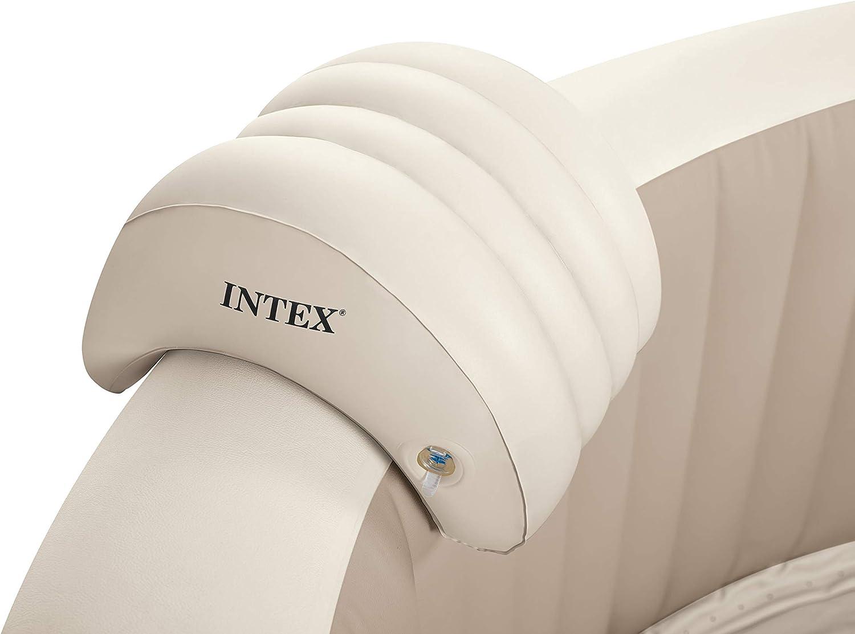 Intex 28501 - Almohada hinchable para Spa, color Beige, 39 x 30 x 23 cm