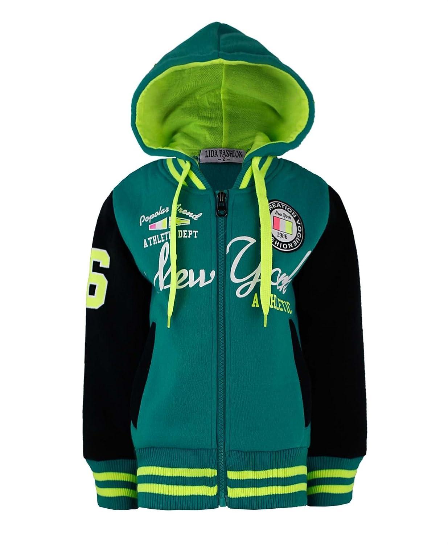 Bambini Sport New York Moda Giacca Stile Varsity Ragazze 7c205dd1b29c