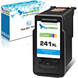 InkWorld Remanufactured 241XL Ink Cartridge Replacement for Canon CL241 (1 Color) for Pixma MG3600 MG3222 MG3220 MG3620 MX432