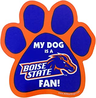 product image for NCAA Boise State Paw Print Car Magnet