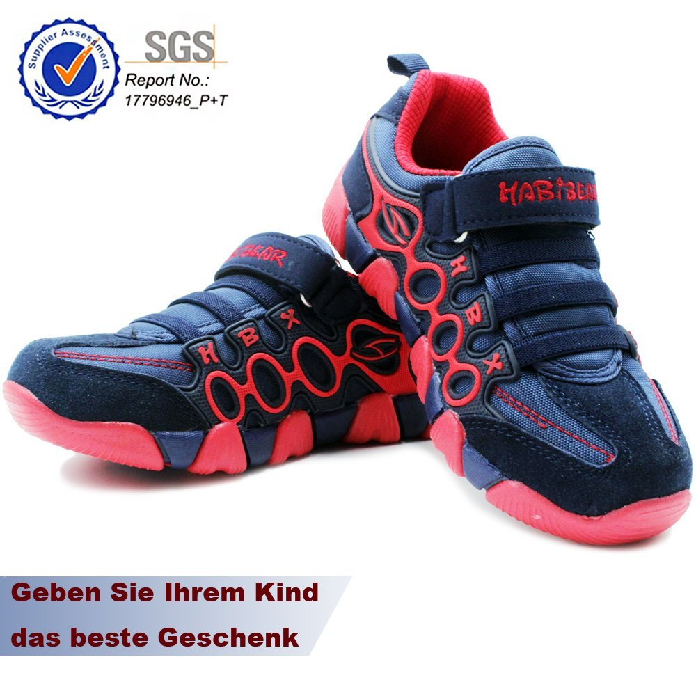 GUFANSI Enfant Chaussures de Course Gar/çon Filles Basket Chaussure Scolaire Respirant Sneaker Shoes pour Unisex-Kids de Plein air