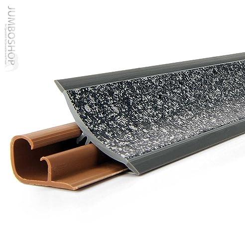 150cm kchenabschlussleiste kchenleiste wandabschlussleiste 23 x 23mm lb23 639 granit dunkel - Kchen Mit Weien Schrnken Und Arbeitsplatten Aus Granit