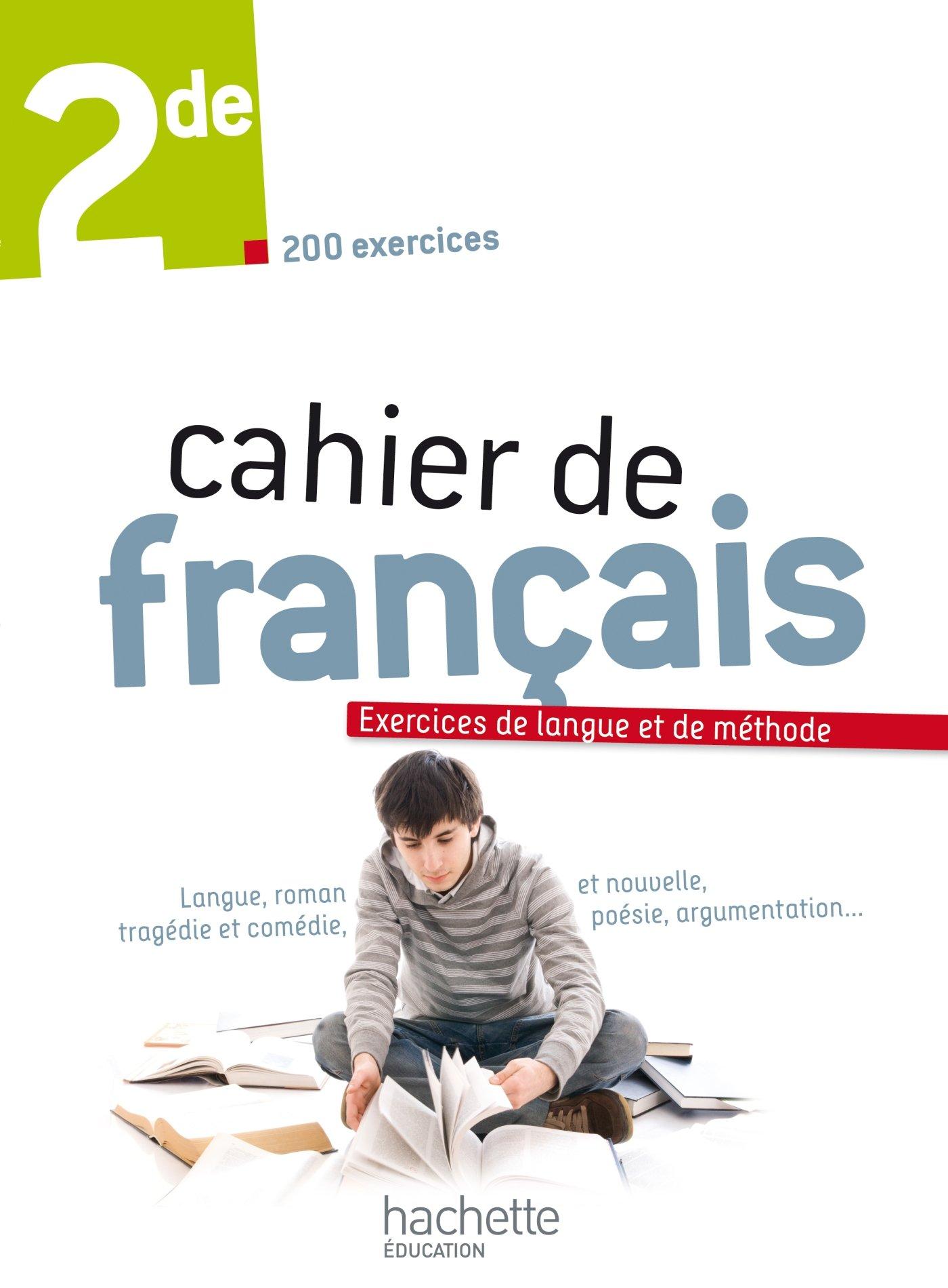 Cahier De Francais 2de Edition 2013 Amazon Fr Valerie