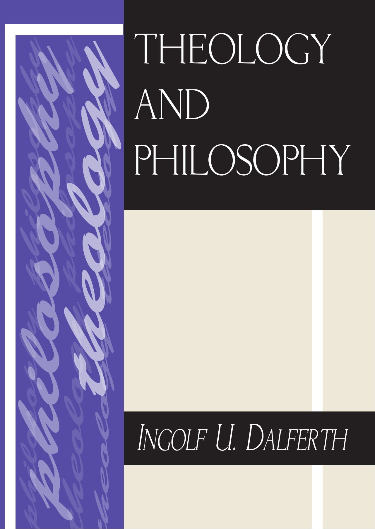 Theology and Philosophy: pdf epub