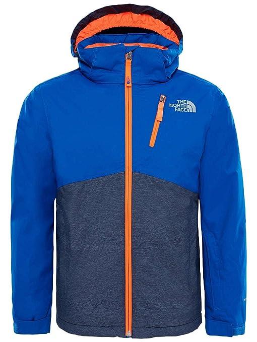 The North Face Y Snowquest Plus Jacket Bright Cobalt Blue S (Kids ... 9cc092807bdd