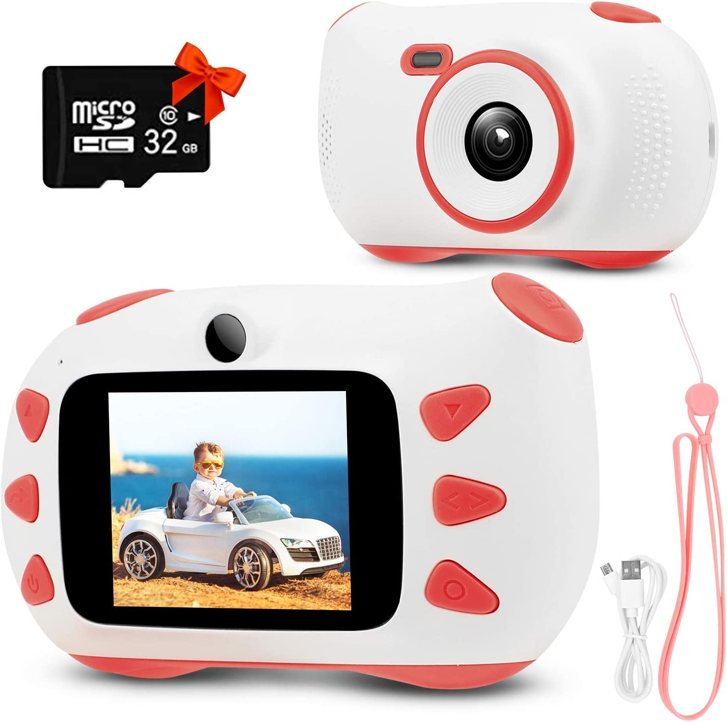 Rumia Digital-Kinderkamera mit Display