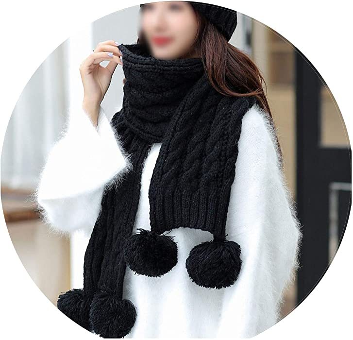 4610938754d 2018 Autumn and Winter Fashion Brand Hats Scarf Knitting Two Piece Women  Gorros Casual Cap Scarf