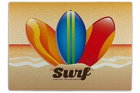 Puzle Diversión tablas de surf impreso 300 piezes