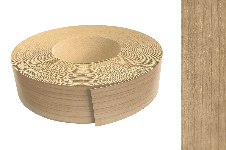 Kantenumleimer Melamin 45mm x 5m mit Schmelzkleber in Nussbaum oder Noce Dekor