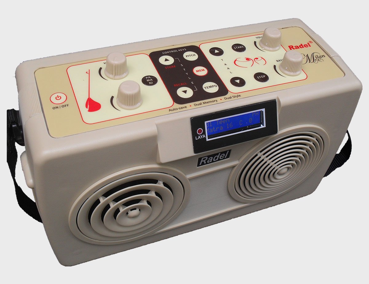The Radel Milan is the first of its kind unique 2-in-1 Digital Tabla-Tanpura. by Radel (Image #3)