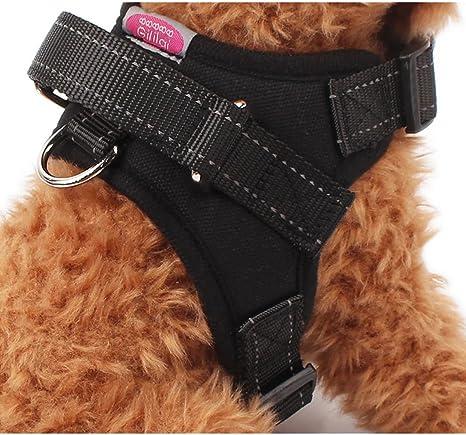 Gililai ajustable No Tire del arnés del perro del collar con la ...