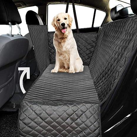 Ferocity Auto Hundedecke Gepolstert Für Den Rücksitz Kofferraum Mit Seitenschutz Autoschondecke Für Hunde Hunde Autodecke Geteilt 115 Haustier