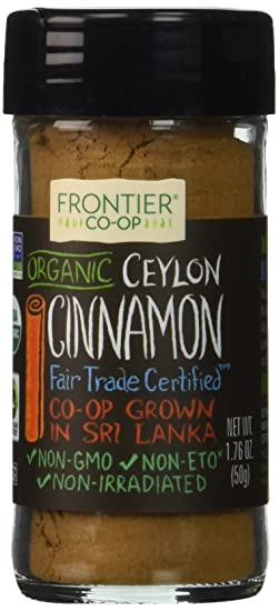 Frontier Organic Ceylon Cinnamon