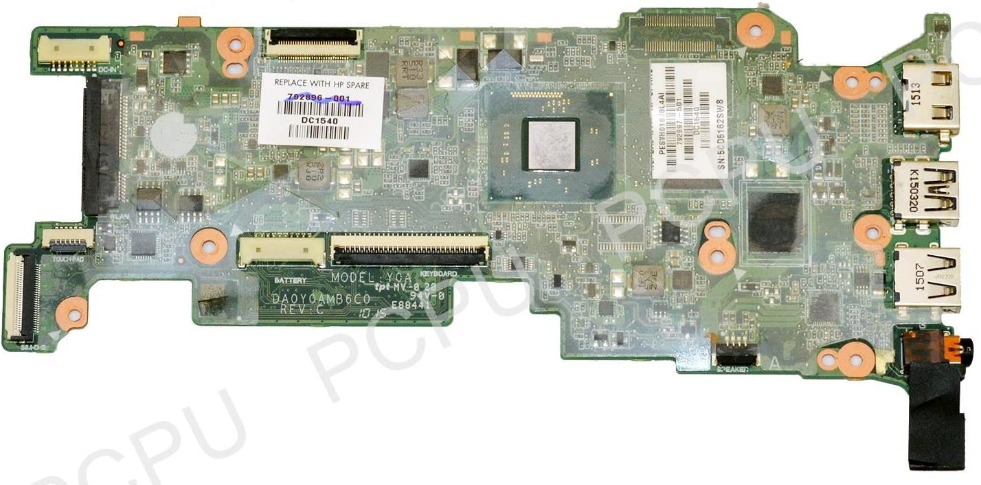 792897-501 HP Stream 11-D Laptop Motherboard 2GB 32GB SSD w/Intel Celeron N2840 2.16Ghz CPU