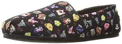 a785e34fcd1b Amazon.com | Skechers BOBS Women's Bobs Plush-Posh Pup Flat | Shoes