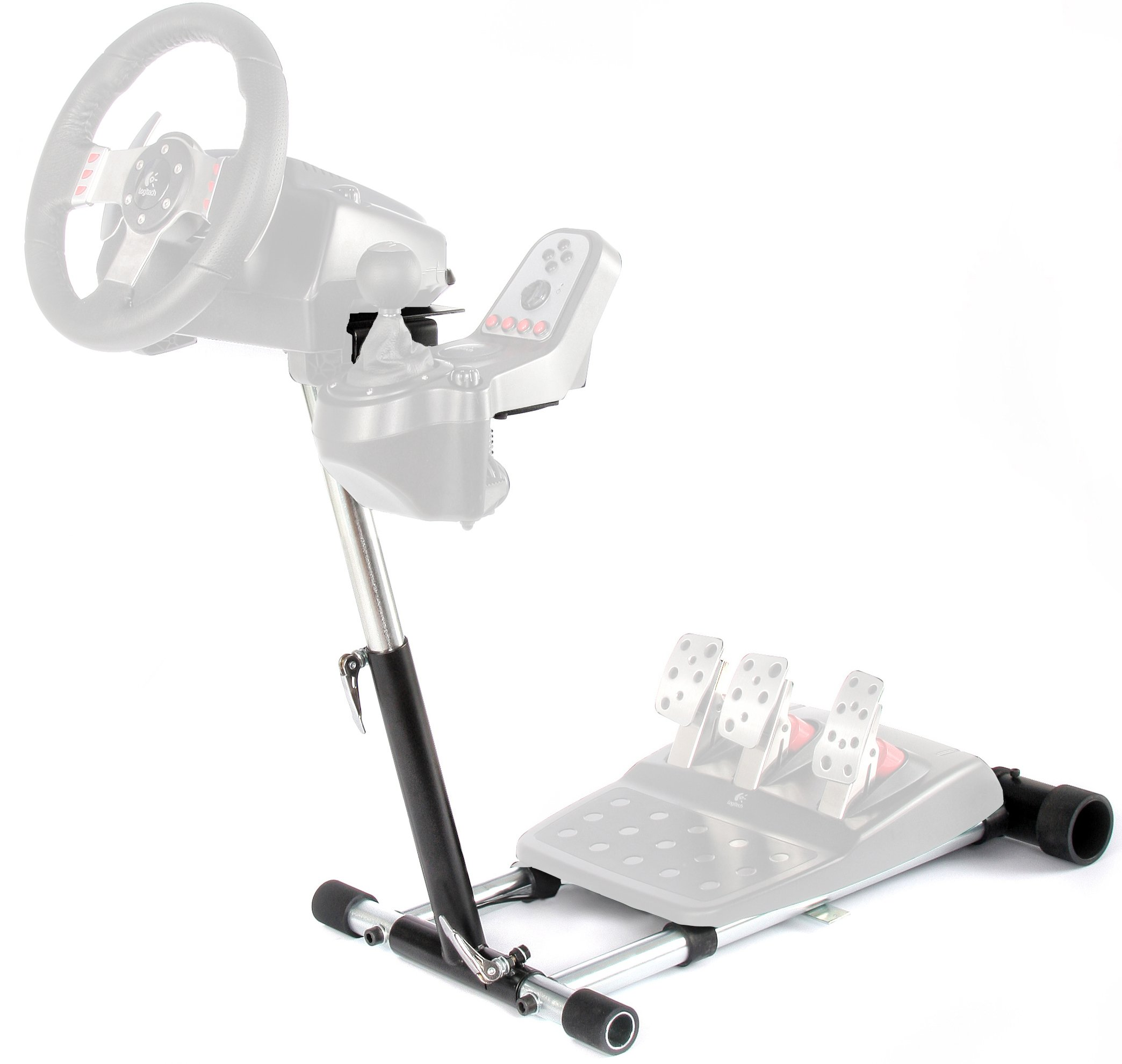 Wheel Stand Pro G Racing Steering Wheel Stand Compatible with Logitech G27/G25, G29 and G920 Wheels, Deluxe, Original V2. Wheel and Pedals Not Included.