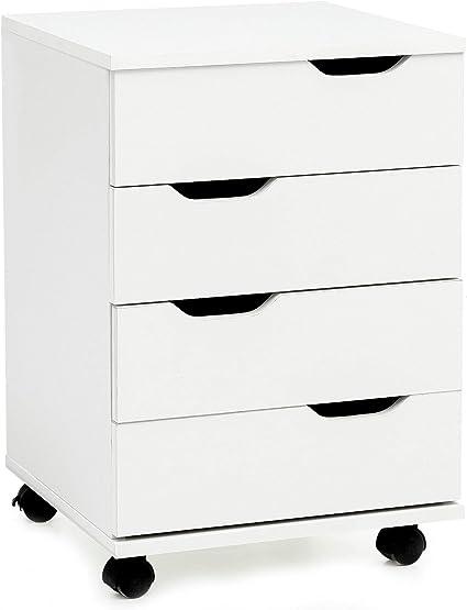Cassettiere Da Ufficio Con Ruote.Ks Furniture Wl5 930 Cassettiera Da Ufficio Con Ruote 40 X 60 X
