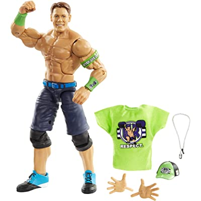 WWE John Cena Elite Collection Action Figure: Toys & Games