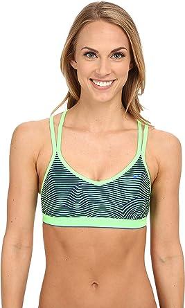 Nike - Sujetador deportivo para mujer - Azul - Large: Amazon.es ...