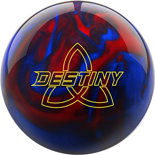 Ebonite Destiny Pearl Black Red Blue