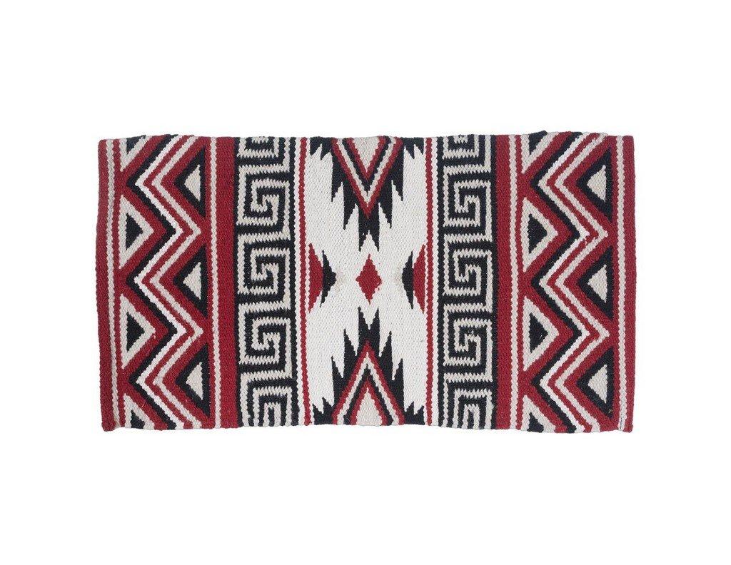 Tough 1 Mayan Navajo Wool Saddle Blanket Pink JT International