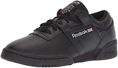 d92ffa7ccf367d Reebok Men's Workout Low Cross Trainer, int-Black/Light Grey, ...