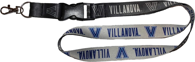 NCAA Villanova Wildcats プレミアムランヤードキーチェーン チャコールエディション