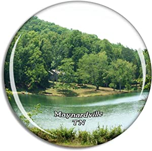 Maynardville Park Tennessee USA Magnet Travel Souvenir 3D Crystal Glass Collection Gift Refrigerator Sticker