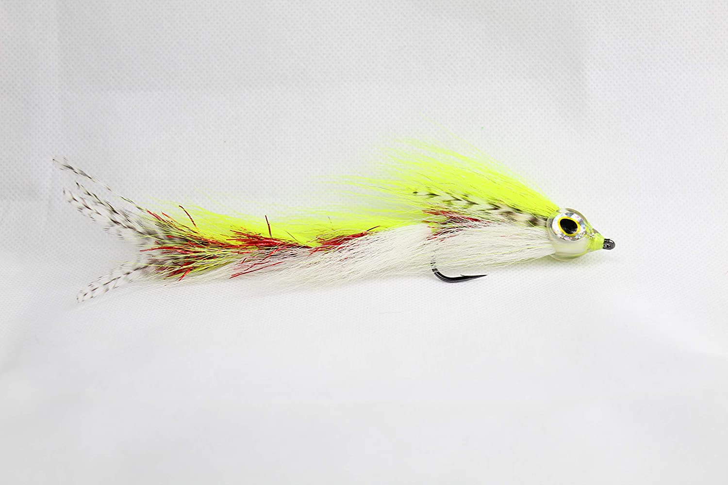 Fishing Lure Haggerty Lures Peacock Bass Big Game Changer Fly Premium Jointed Streamer  Muskie Pike Musky