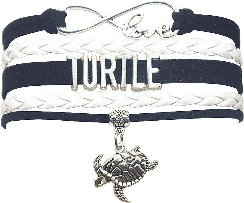 Turtle Infinity Bracelet