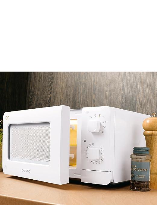 Daewoo QT1 Encimera 14L 600W Color blanco - Microondas: Amazon.es ...