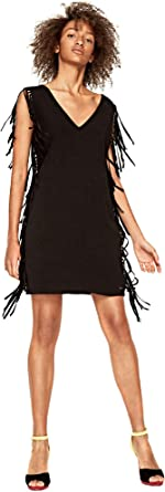 Pepe jeans PL952131 Dress Mujeres Negro Xs: Amazon.es: Ropa