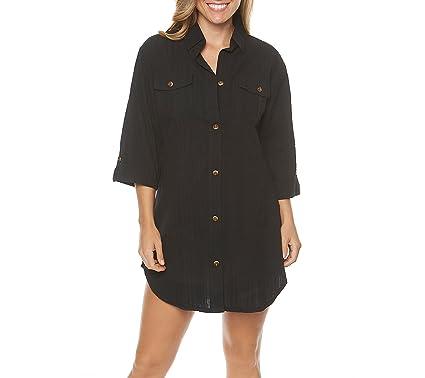 1ab84586b1 Dotti Shirt Dress Coverup at Amazon Women s Clothing store