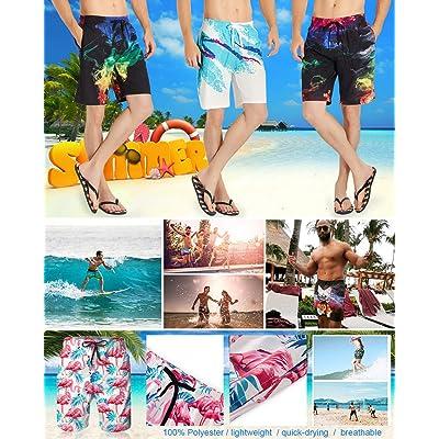Big Incisors Anime Quick-Dry Mens Swim Trunks Beach Shorts Breathable Beach Surfing Beach Board Shorts