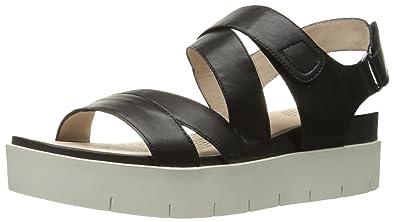 829aa276dd Sudini Women s Ola Platform Sandal Black 8.5 ...