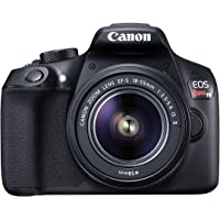 Canon EOS Rebel T6 Digital SLR Camera Kit with EF-S 18-55 mm f/3.5-5.6 is II Lens, Built-in WiFi and NFC (Black)