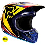 Fox Racing Race Men's V4 Motocross Motorcycle Helmet - Orange / Large