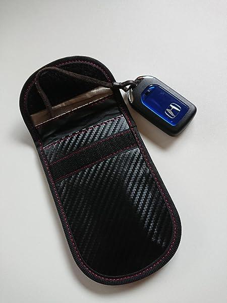 電波遮断ポーチ-リレーアタックによる車の盗難防止-AIMEN-カーセキュリティ-ブロッキングポーチ