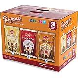 Popcornopolis Gourmet Popcorn Single Serving Variety Pack, 25 Ounce Box